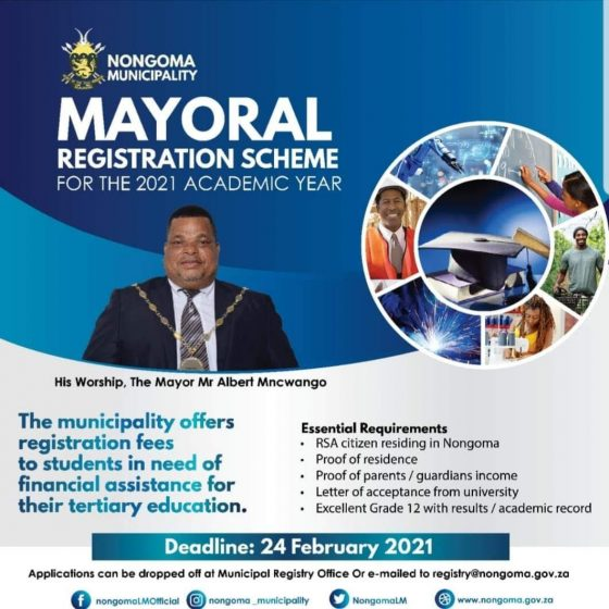 Mayoral Registration Scheme  2021